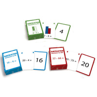 Subtraction Flash Cards