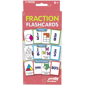 Fraction Flash Cards