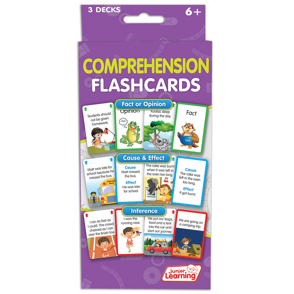 Comprehension Flash Cards