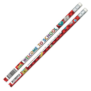 (12 Dz) Welcome To School Pencils 12 Per Pk