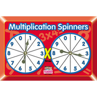 (6 Ea) Multiplication Spinners