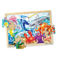 (3 Ea) Under The Sea Puzzle