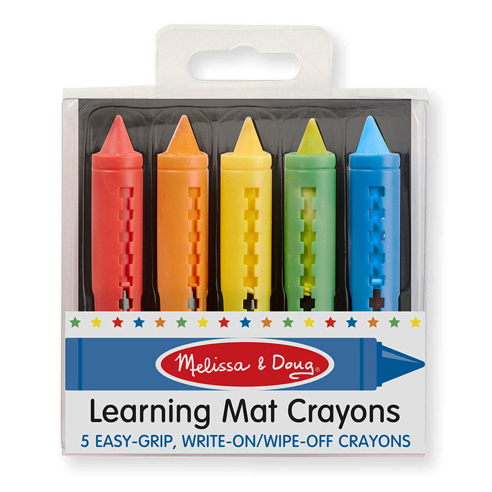 (12 Bx) Learning Mat Crayons