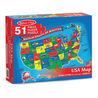 Floor Puzzle Us Map