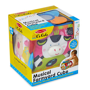 Musical Farmyard Cube