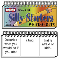 (2 Ea) Write-abouts Silly Starters Gr 1-3