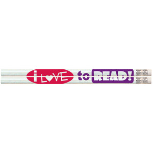 I Love To Read Pencils 144bx