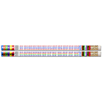 (12 Dz)multiplication Table Pencils 12 Per Pk