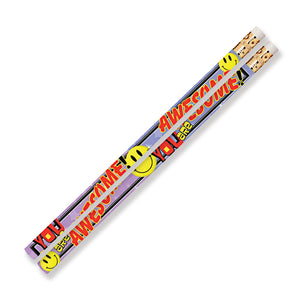 You Are Awesome 144pk Motivational Fun Pencils