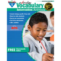 Everyday Vocabulary Gr 5 Intervention Activities
