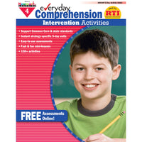 Everyday Comprehension Gr 4 Intervention Activities