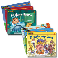 Nursery Rhyme Tales Spanish Rising Readers  Leveled Books