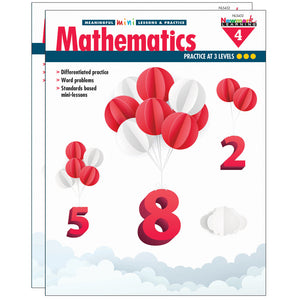 (2 Ea) Mini Lessons & Practice Math Gr 4 Meaningful