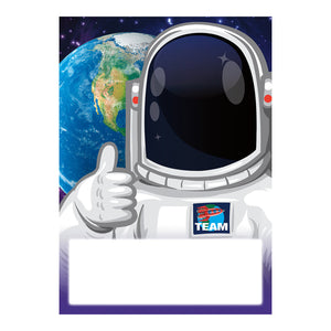 (6 Pk) Astronaut Meet Our Class Cards