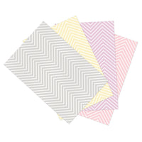 Photo Backdrop Assorted Chevron 4rl 48in X 12ft