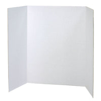 Presentation Disply Booth Wht 4-ct 40x28 Presentation Board