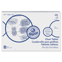 Chart Tablet 1 Inch Rule 24x16