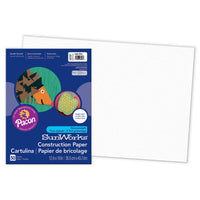 Sunworks 12x18 Bright White 50ct Construction Paper