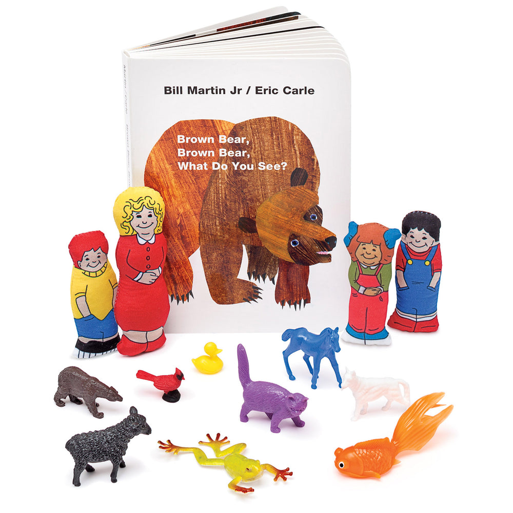 Brown Bear Brown Bear What Do You See 3d Storybook