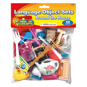 Language Object Sets Around The House