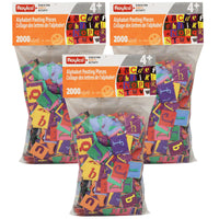 (3 Pk) Alphabet Pasting Pieces