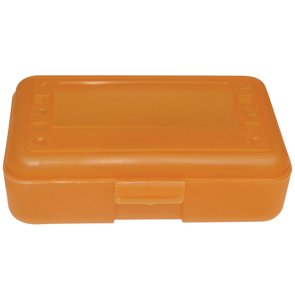 (12 Ea) Pencil Box Tangerine