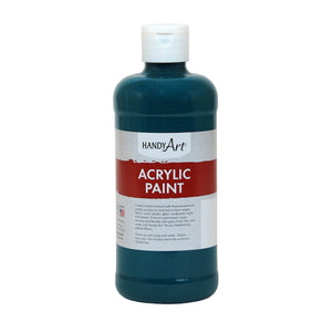 Acrylic Paint 16 Oz Phthalo Green