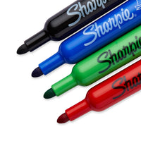 Sharpie Flip Chart Markers 4 Pk Bullet Tip Assorted Colors