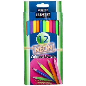 Sargent Art Neon Colored Pencils
