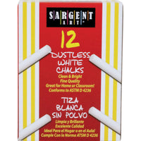 (36 Bx) Sargent School Gr Dustless Chalk White