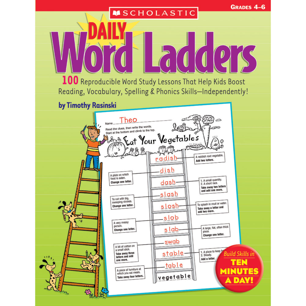 Daily Word Ladders Gr 4-6
