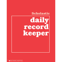 Scholastic Daily Record Keeper Gr K-8
