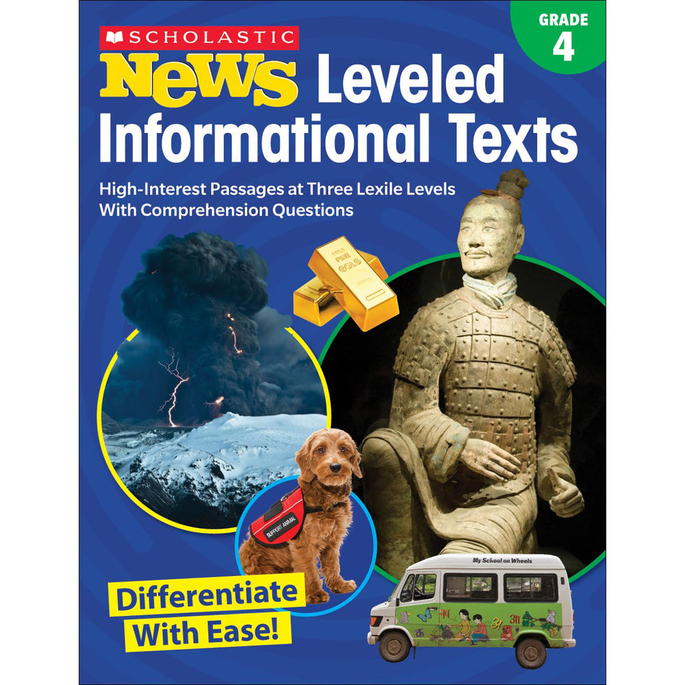 (2 Ea) Gr 4 Scholastic News Leveled Info Texts