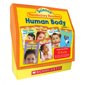 Science Vocabulary Readers Set Human Body Level 1