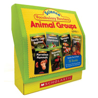 Science Vocabulary Readers Set Animal Groups
