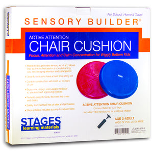 Active Attention Chair Cushion Red Sensory Builder