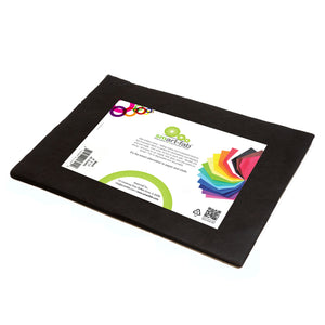 (3 Pk) Smart Fab Cut Sheets 9x12 Black