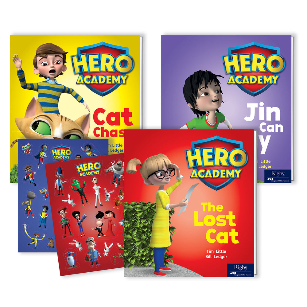 Hero Academy Lvld Readers Gr Prek