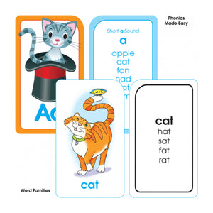 Reading Flash Cards 4 Pk