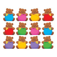 (6 Pk) Classic Accents Mini Bears Variety Pk