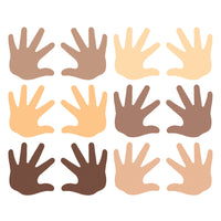 (6 Pk) Friendship Hands Mini Accent