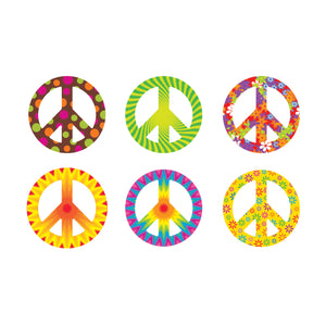 (3 Pk) Peace Signs Patterns Classic Accents Variety Pk