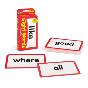 Pocket Flash Cards Sight Words A