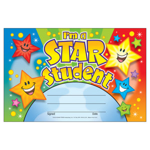(6 Pk) Awards Im A Star Student