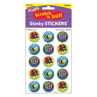 (6 Pk) Bug Buddies Stinky Stickers Large