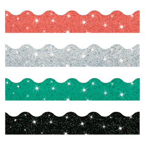 Sparkle Solids Border Variety Pack