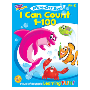 I Can Count 1-100 Wipe Off Book Gr Pk-k