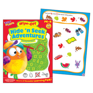 Hide N Seek Adventures Owl Stars Wipe Off Book