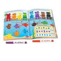 Colors & Shapes Bilingual28pg Wipe-off Books
