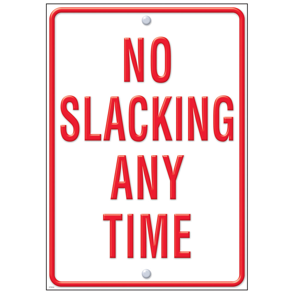 No Slacking Lp Large Posters